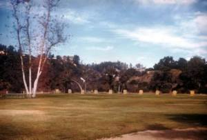 The Pasadena Target Archers range occupied the east side of the Lower Arroyo north of California Street from 1928 to 1975. The AIDS Memorial Grove was planted on the area beginning in 1991.